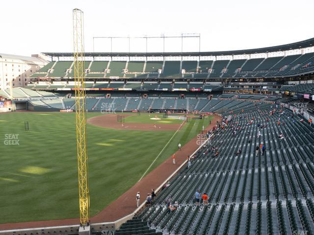 Oriole Park at Camden Yards Section 274 view