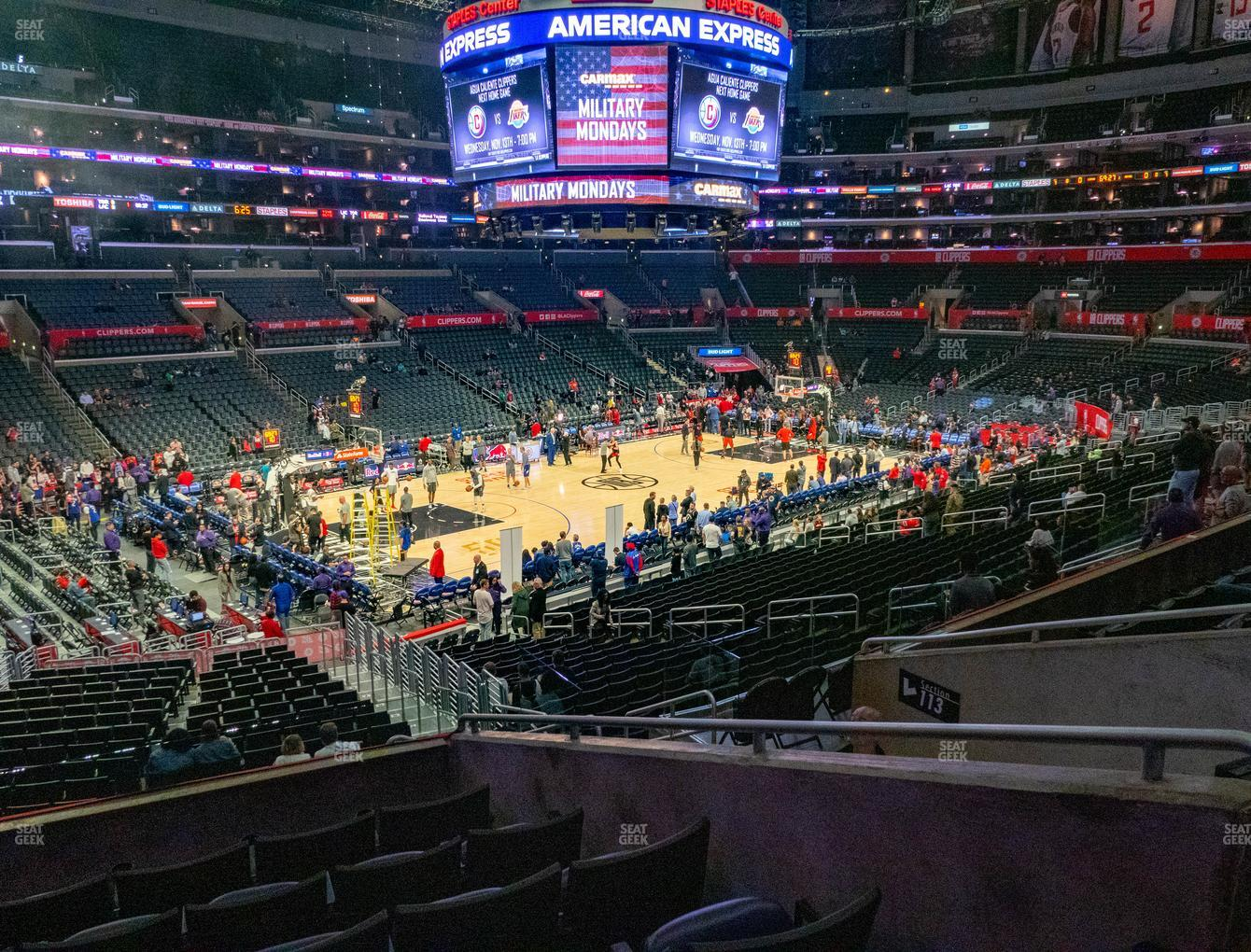 Los Angeles Lakers at Staples Center Premier 17 View