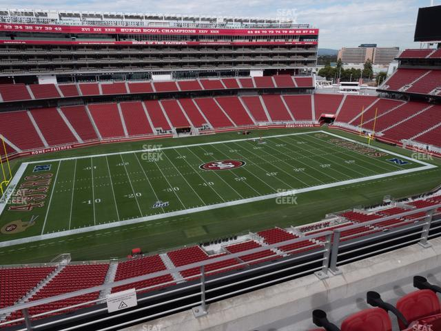 Levi's Stadium Section 317 view