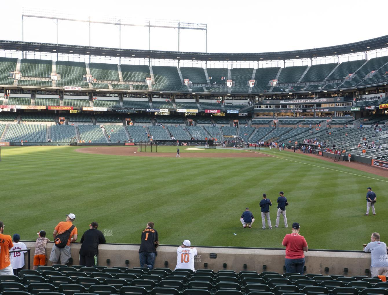 Baltimore Orioles at Oriole Park at Camden Yards Section 80 View