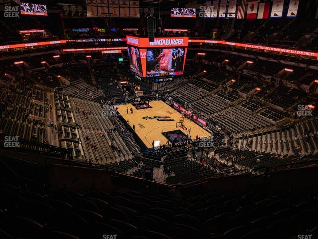 AT&T Center Section 218 view