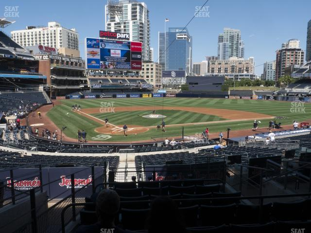 Petco Park Premier Club I view