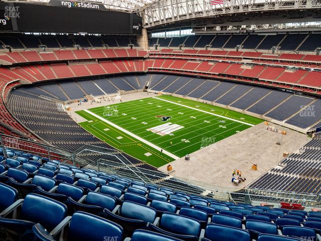 NRG Stadium Section 628 view