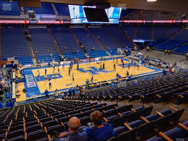 Rupp Arena Section 16 view