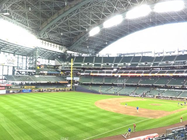 Miller Park Section 230 view