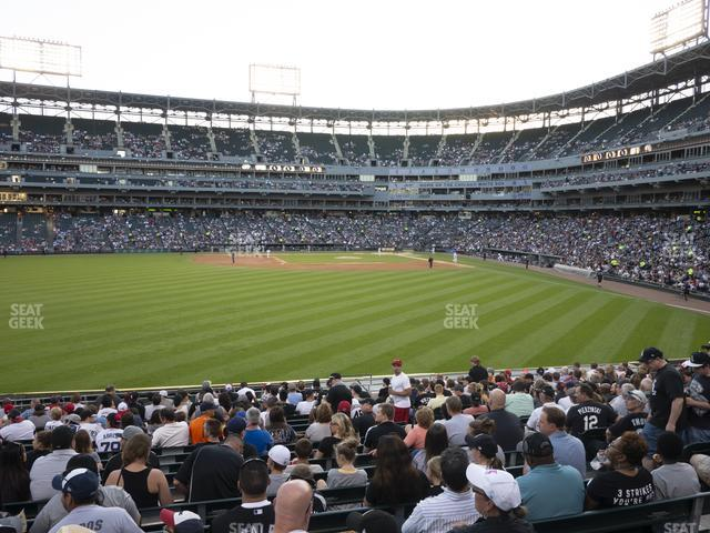 Guaranteed Rate Field Section 160 view