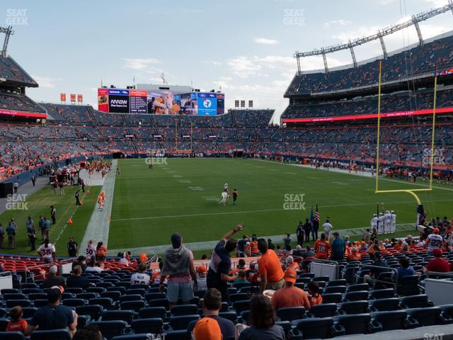 Empower FIeld at Mile High Section 116 view