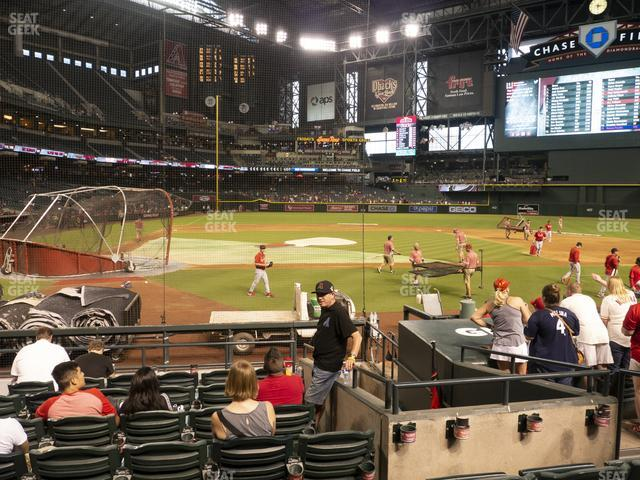 Chase Field Section G view