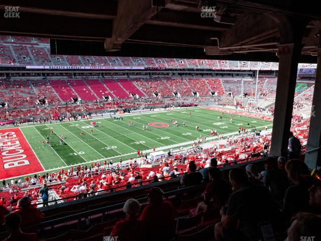 Ohio Stadium Section 26 B view