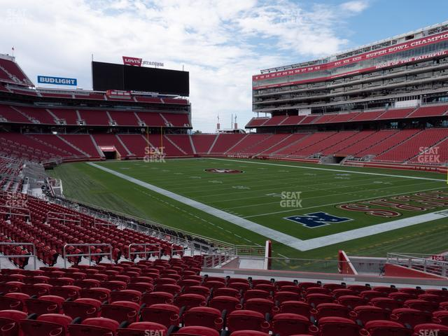 Levi's Stadium Section 107 view