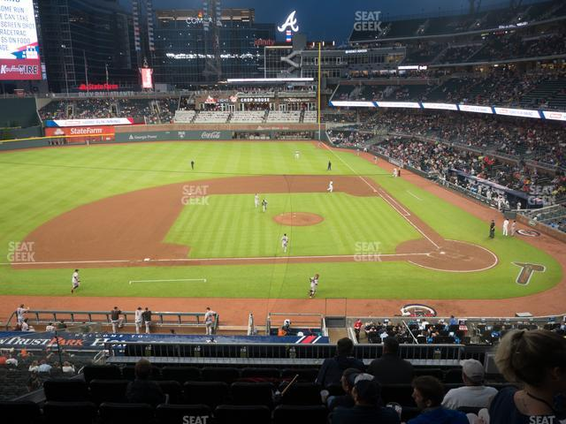 SunTrust Park Section 231 view