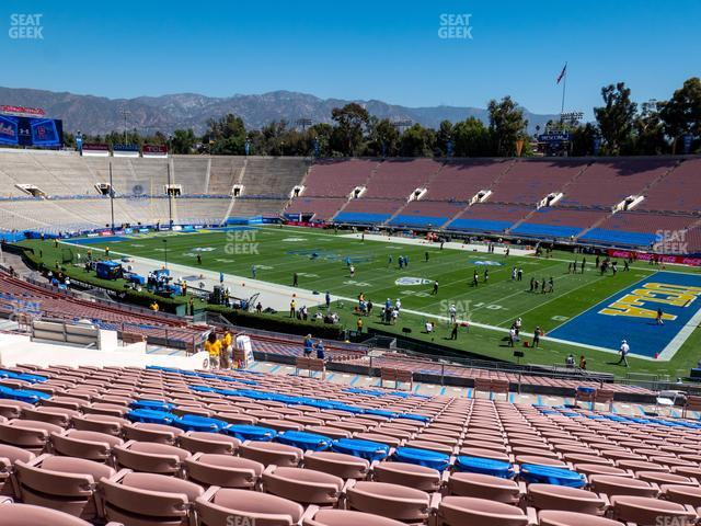 The Rose Bowl Upper 21 H view