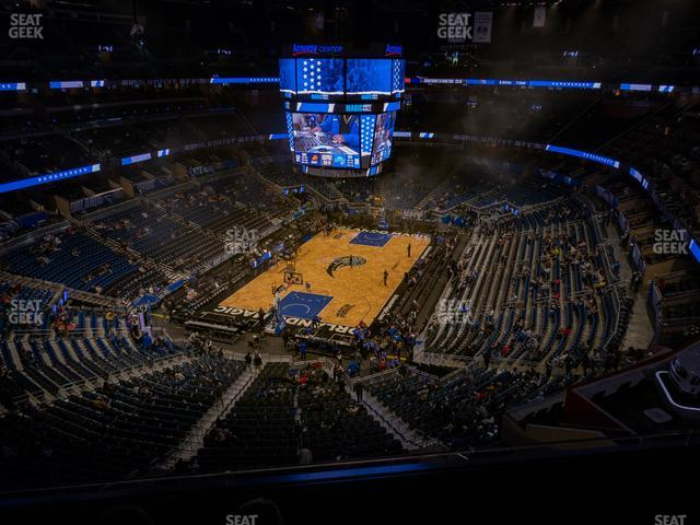 Amway Center Section 231 view