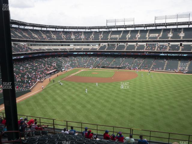 Globe Life Park Section 249 view