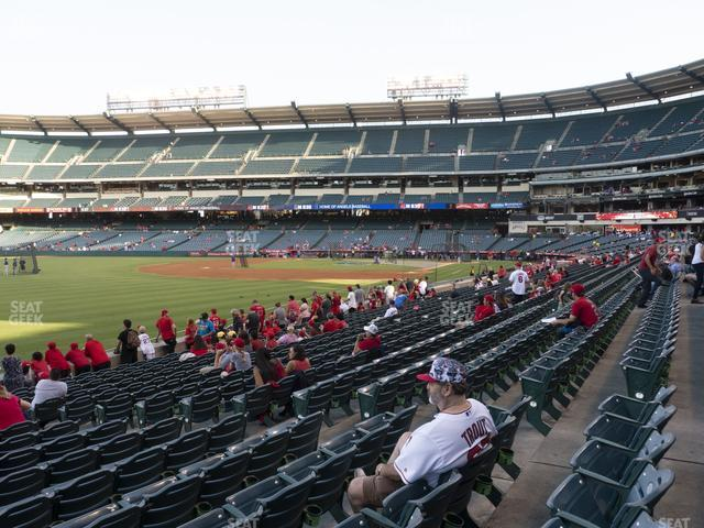 Angel Stadium of Anaheim Section 106 view