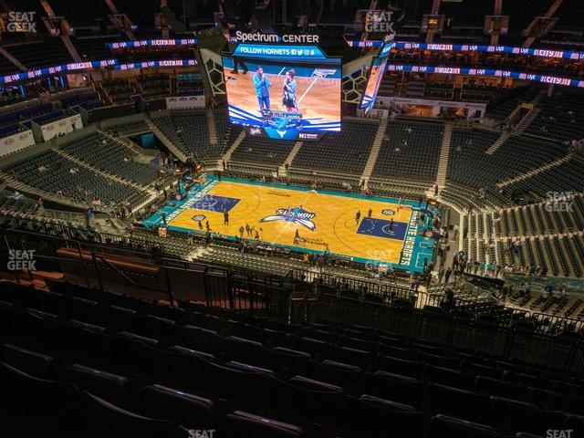 Spectrum Center Section 207 view