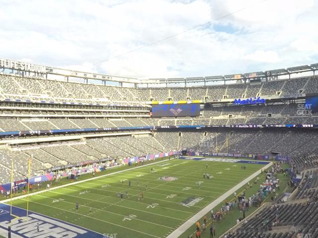 MetLife Stadium Section 246 A view