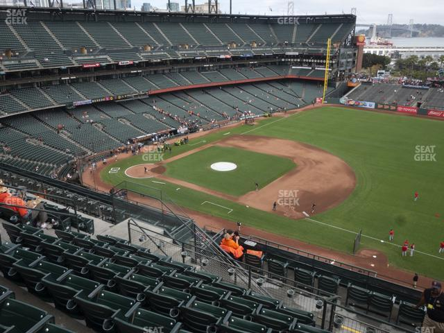 Oracle Park Section 304 view
