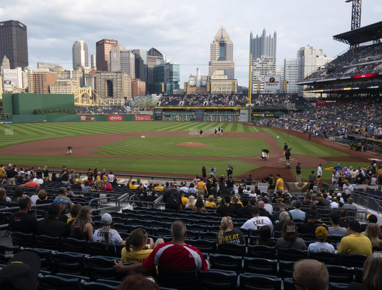 Pittsburgh Pirates at PNC Park Section 120 View
