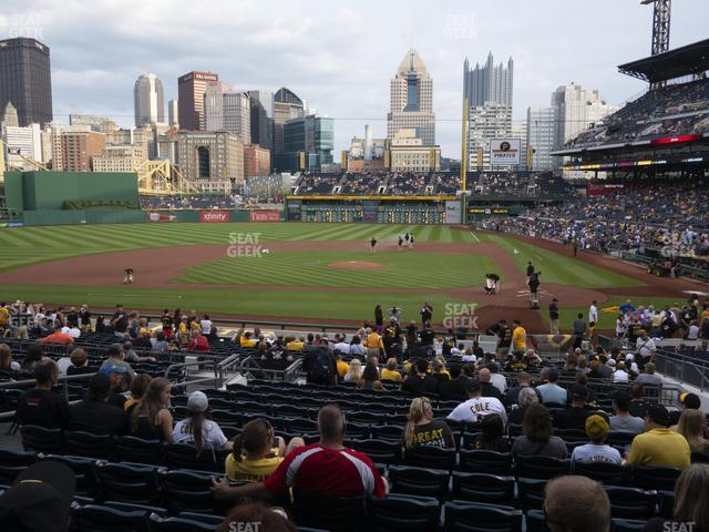 PNC Park Section 120 view