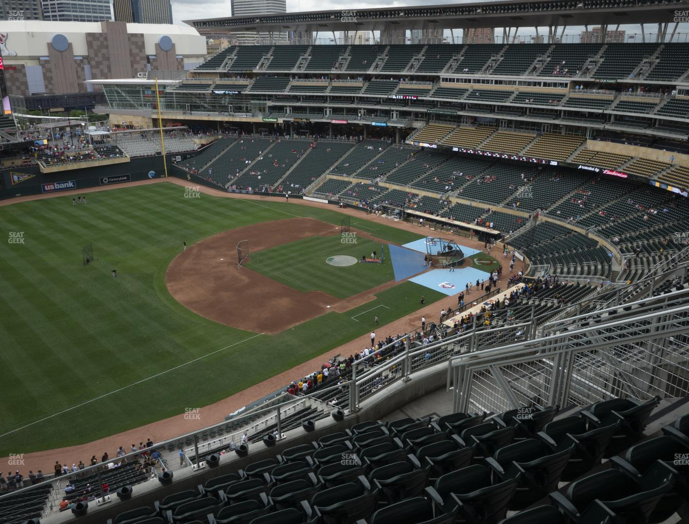 Minnesota Twins at Target Field Section 325 View