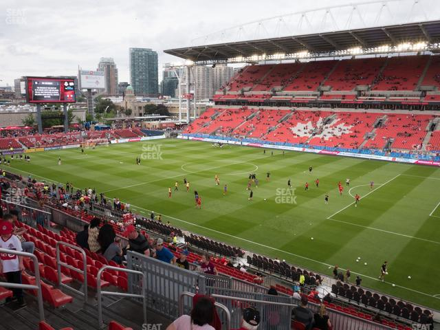 BMO Field Section 219 view