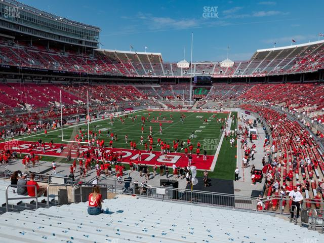 Ohio Stadium Section 36 A view