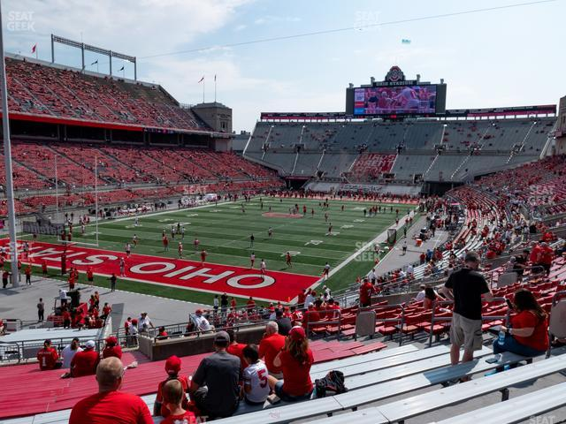 Ohio Stadium Section 7 A view