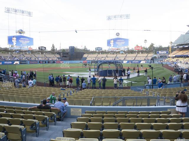 Dodger Stadium Field Box 3 view