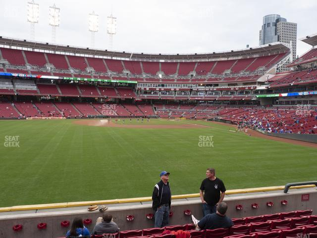 Great American Ball Park Section 103 view