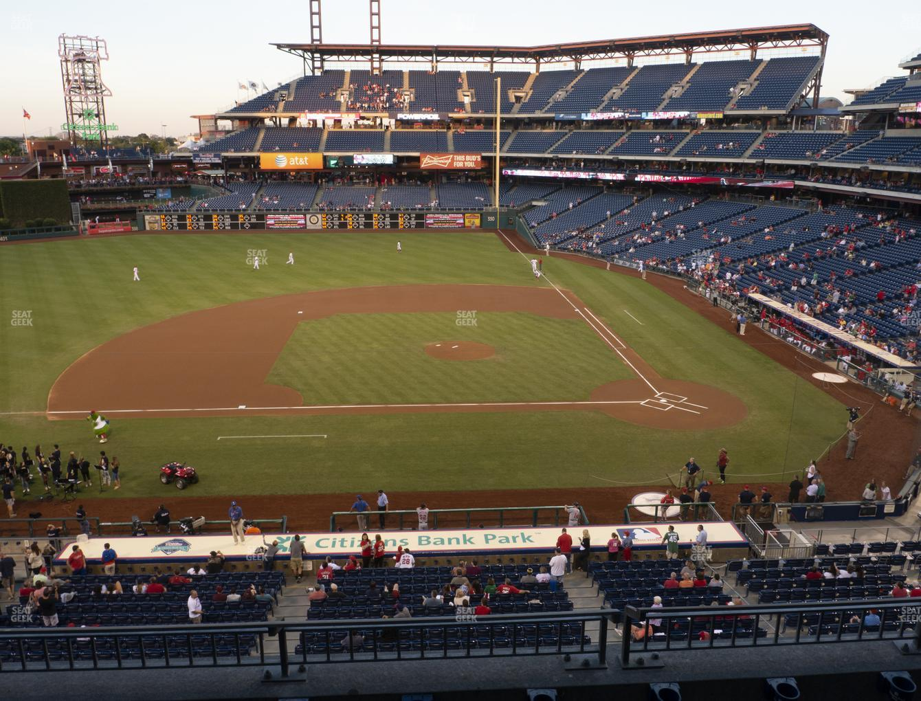 Philadelphia Phillies at Citizens Bank Park Section 228 View