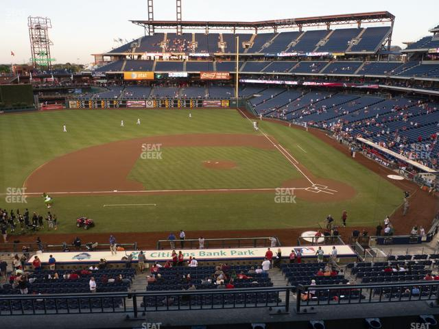 Citizens Bank Park Section 228 view