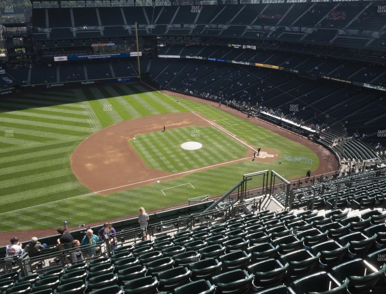 Seattle Mariners at T-Mobile Park Section 340 View
