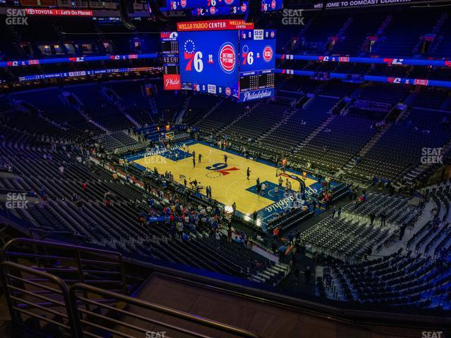 Wells Fargo Center Section 204 A view