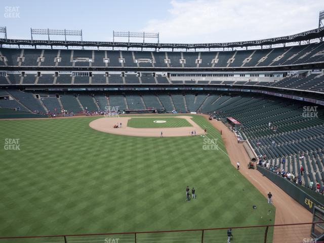 Globe Life Park Section 204 view