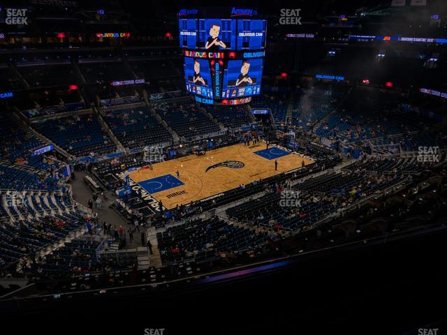 Amway Center Section 228 view