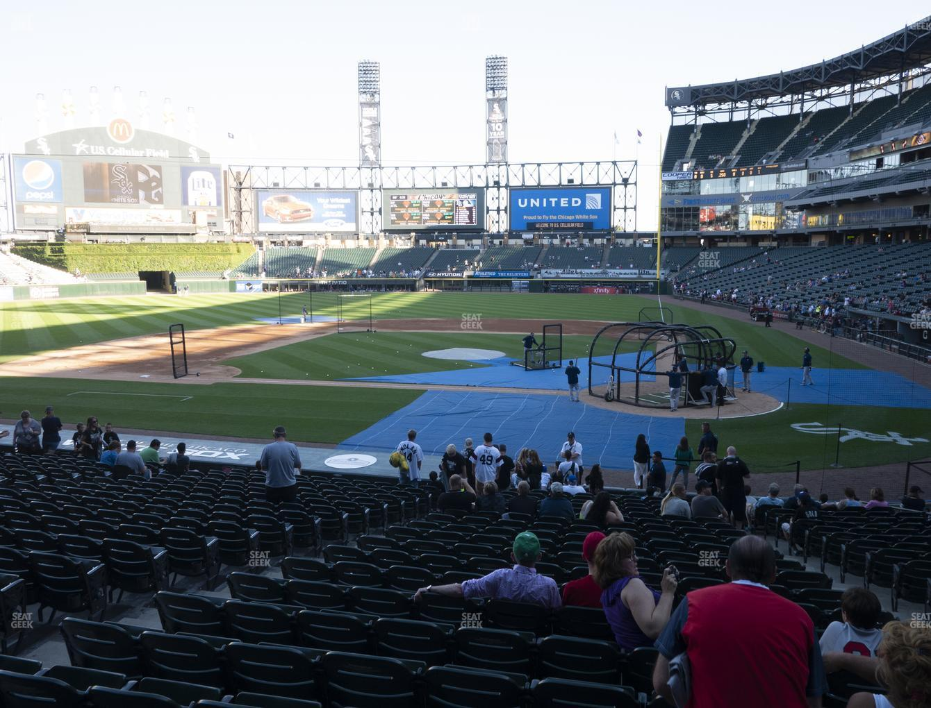 Fine Guaranteed Rate Field Section 136 Seat Views Seatgeek Onthecornerstone Fun Painted Chair Ideas Images Onthecornerstoneorg
