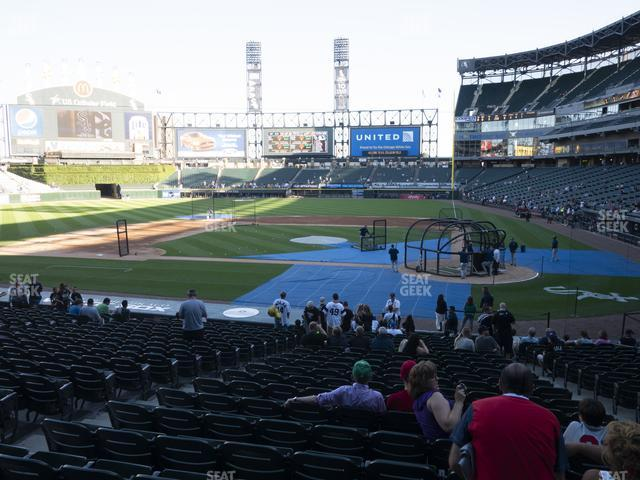 Guaranteed Rate Field Section 136 view