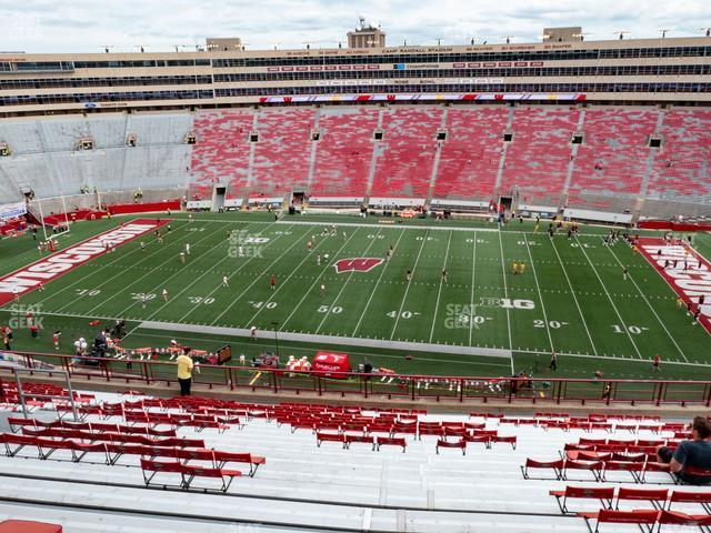 Camp Randall Stadium Section EE view