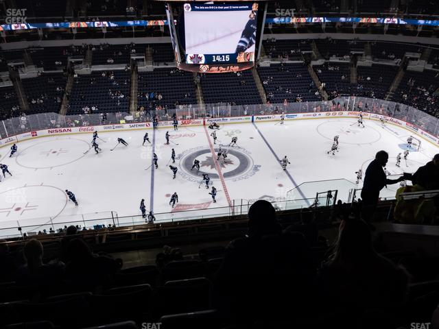 Bell MTS Place Section 321 view