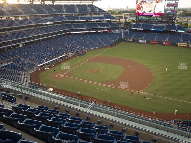 Citizens Bank Park Section 413 view