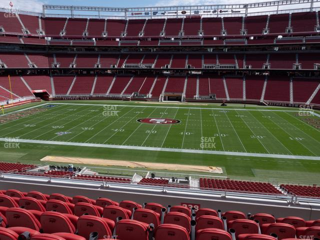 Levi's Stadium Section C 238 view
