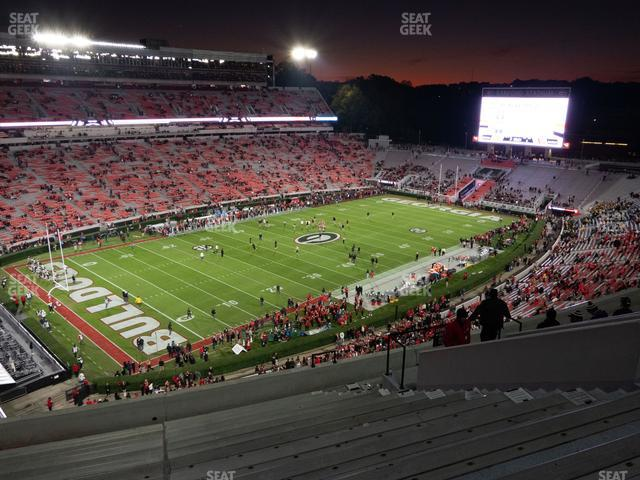 Sanford Stadium Section 312 view