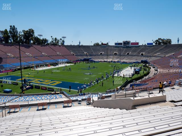 The Rose Bowl Upper 14 L view