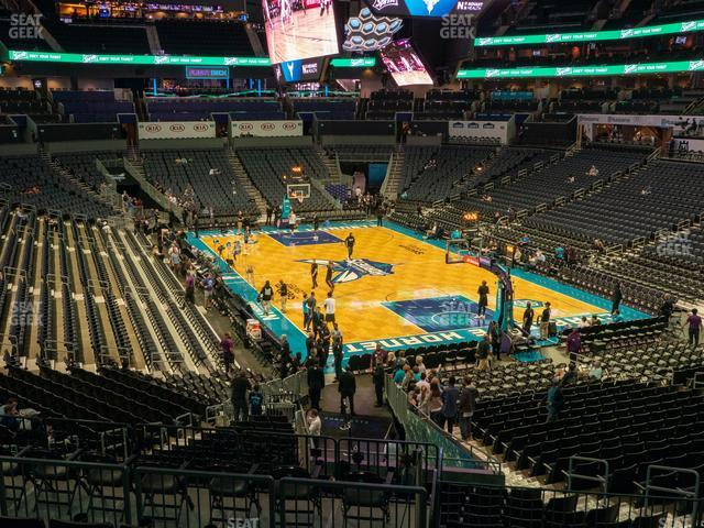 Spectrum Center Section 102 view