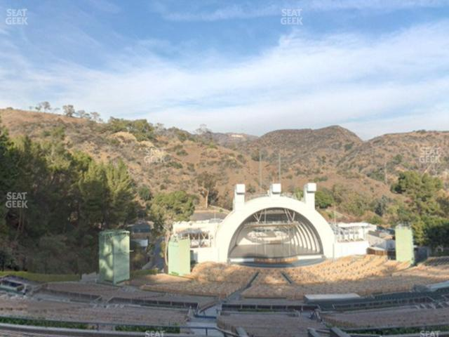 Hollywood Bowl Section T 2 view