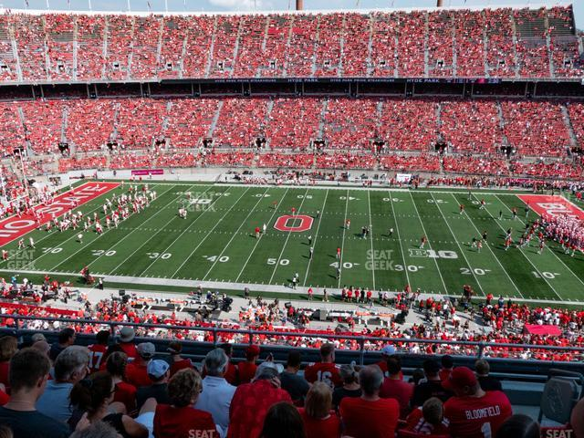 Ohio Stadium Section 21 C view