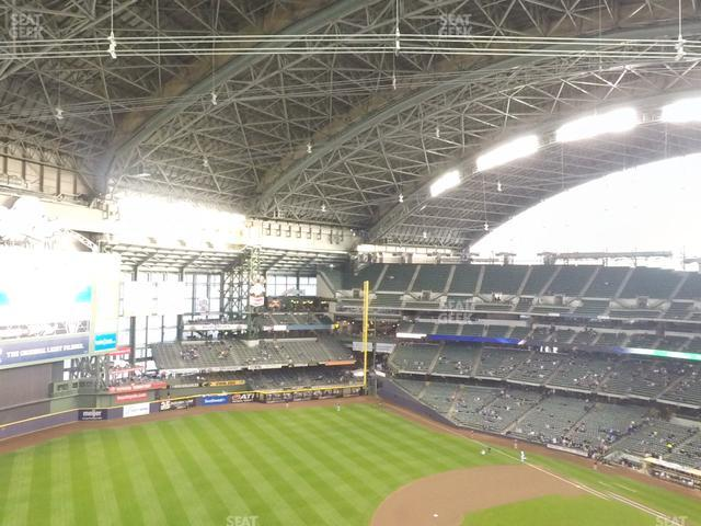 Miller Park Section 434 view