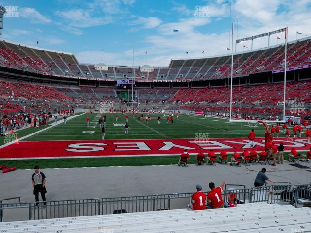 Ohio Stadium Section 37 AA view