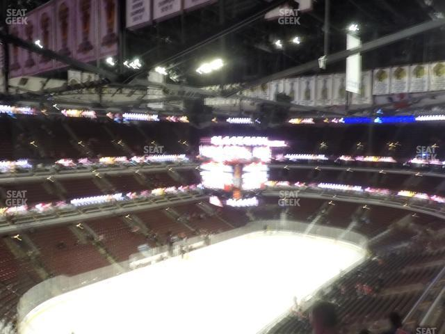United Center Section 322 view